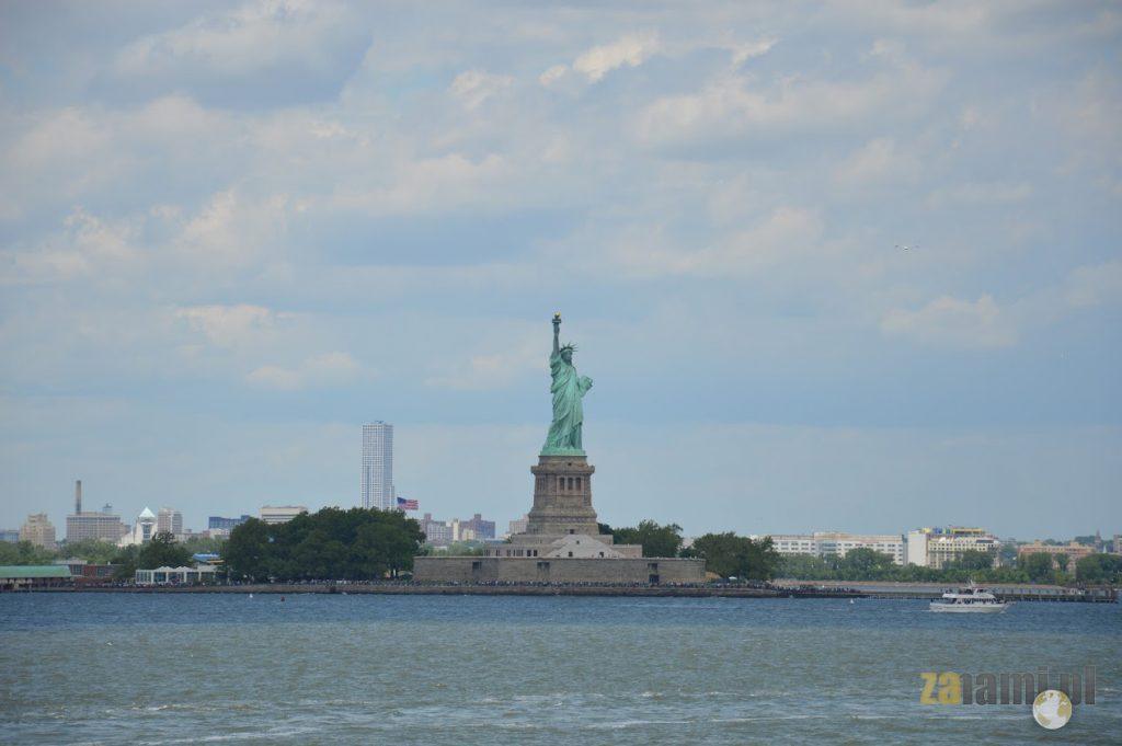 Podróż do USA - Statua Wolności