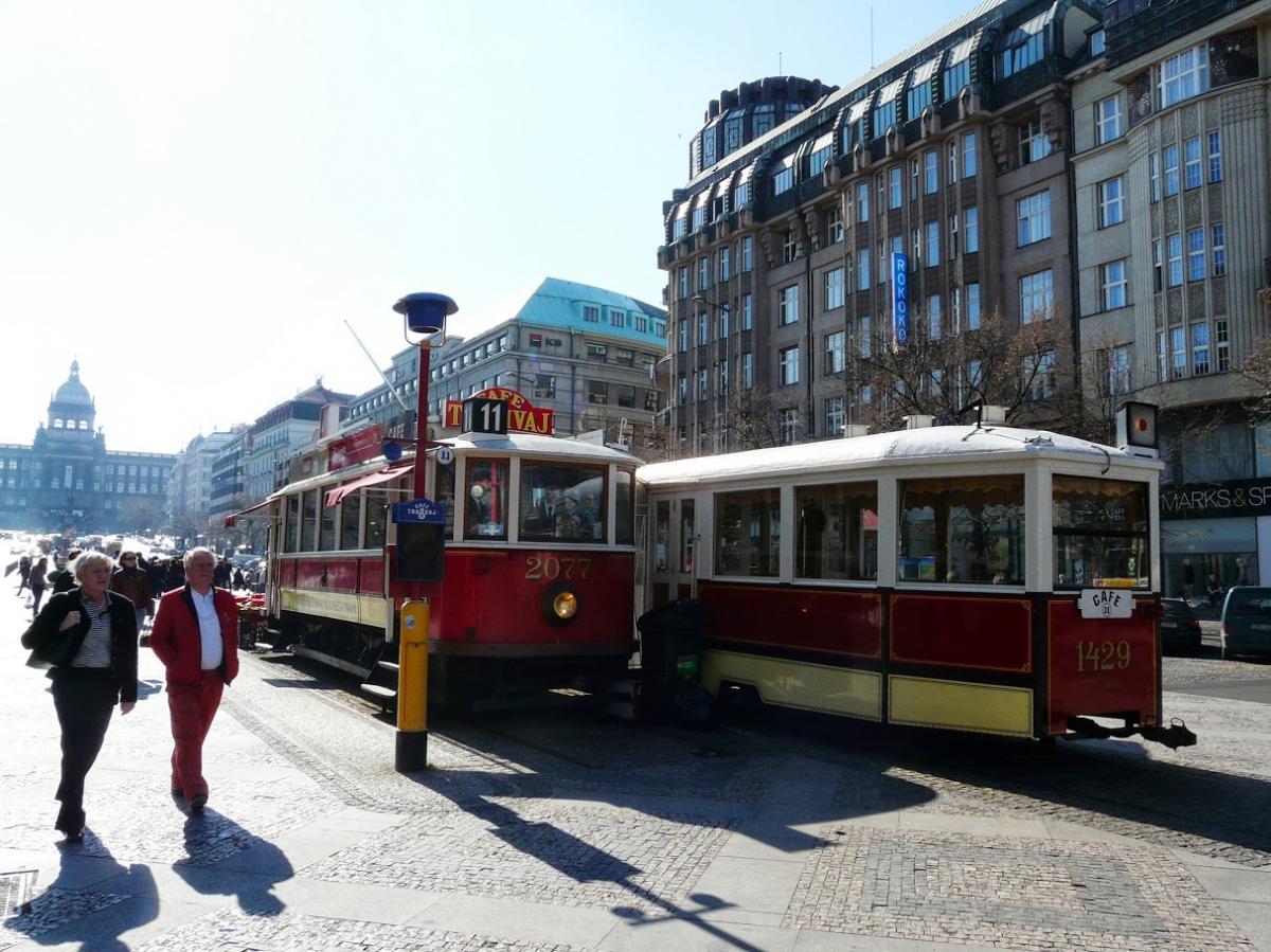 Tramwaj w Pradze